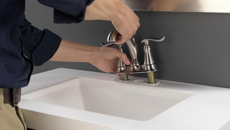 how to install bathroom faucet