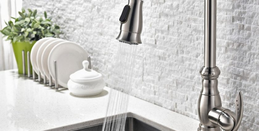 pull-out kitchen faucets